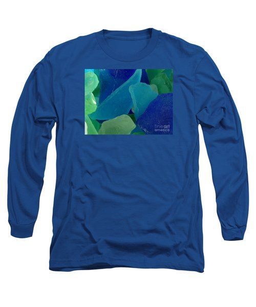 Sea Glass Long Sleeve T-Shirt by Chad and Stacey Hall