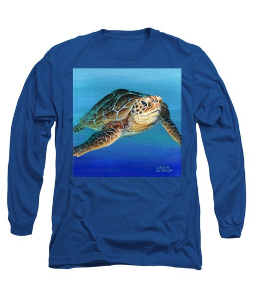 Sea Turtle 1 Of 3 Long Sleeve T-Shirt