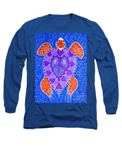 Sea Turtle Hearts 2 Long Sleeve T-Shirt