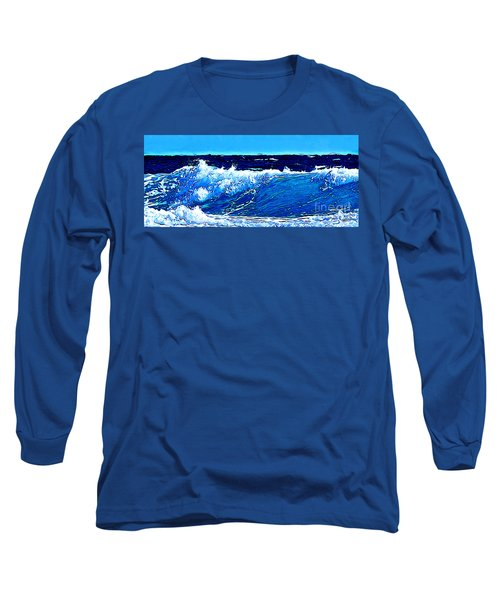 Sea Long Sleeve T-Shirt by Zedi