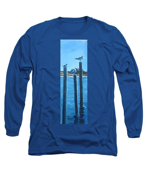 Seagull On A Stick Long Sleeve T-Shirt