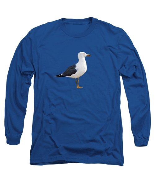 Seagull Portrait Long Sleeve T-Shirt