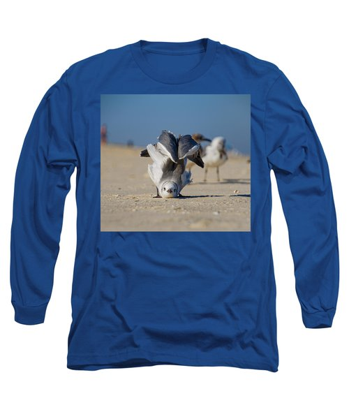 Seagull Yoga Long Sleeve T-Shirt