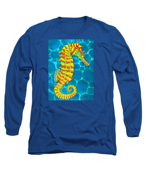 Seahorse - Exotic Art Long Sleeve T-Shirt