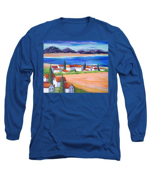 Seaside Village Long Sleeve T-Shirt