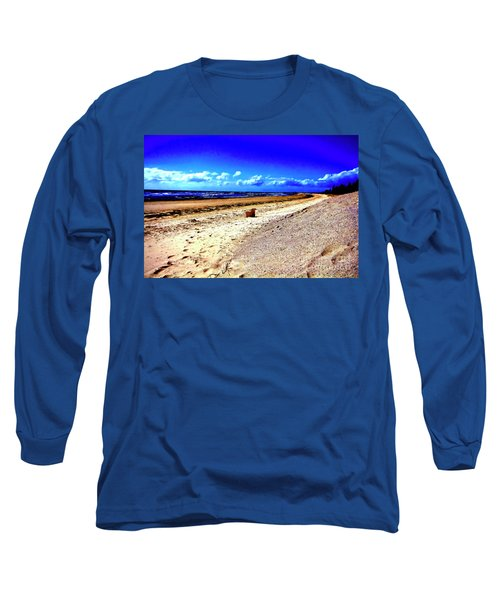 Seat For One Long Sleeve T-Shirt by Douglas Barnard