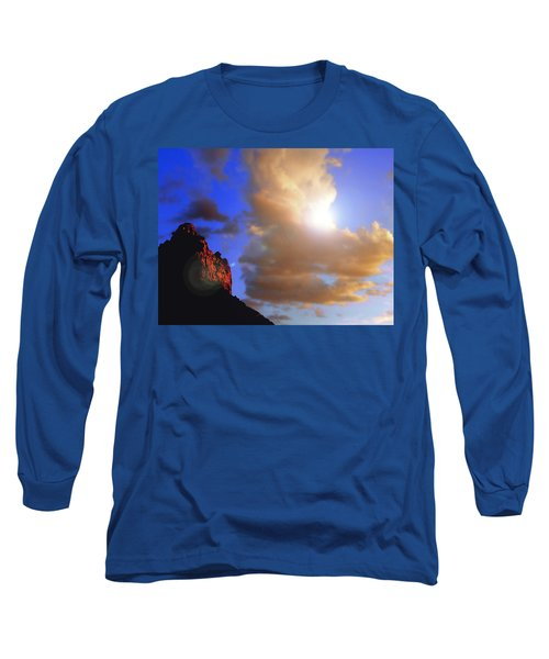 Sedona Mountain Cloud Sun Long Sleeve T-Shirt