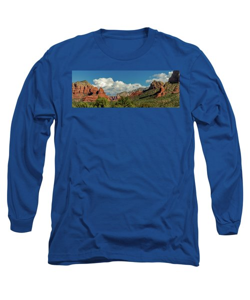 Long Sleeve T-Shirt featuring the photograph Sedona Panoramic II by Bill Gallagher