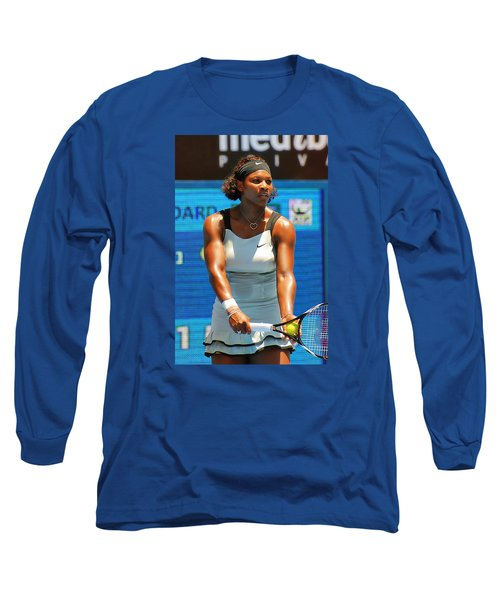 Serena Williams Long Sleeve T-Shirt by Andrei SKY