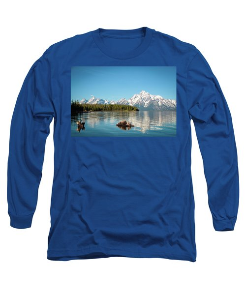 Serenity Long Sleeve T-Shirt by Jill Laudenslager