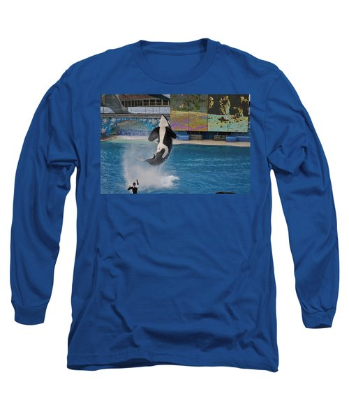 Shamu Splash Long Sleeve T-Shirt