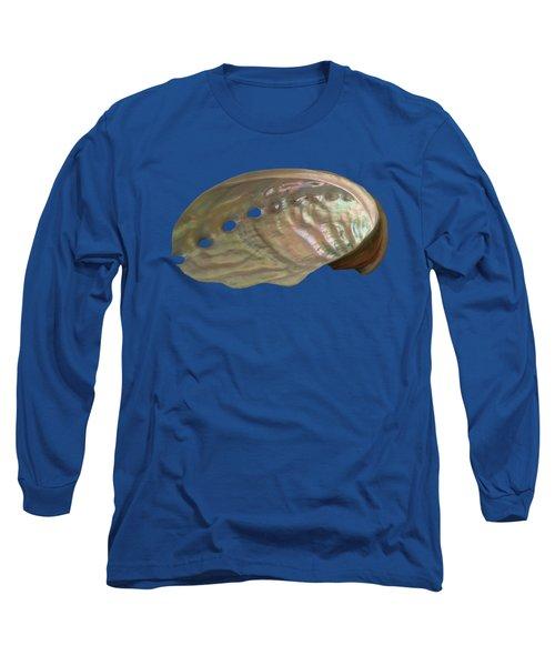 Shell Transparency Long Sleeve T-Shirt