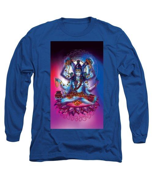 Shiva Abhishek  Long Sleeve T-Shirt