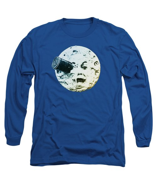 Shoot The Moon Long Sleeve T-Shirt by Bill Cannon