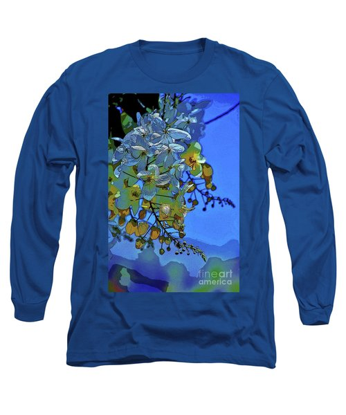Shower Tree Exposed Long Sleeve T-Shirt by Craig Wood