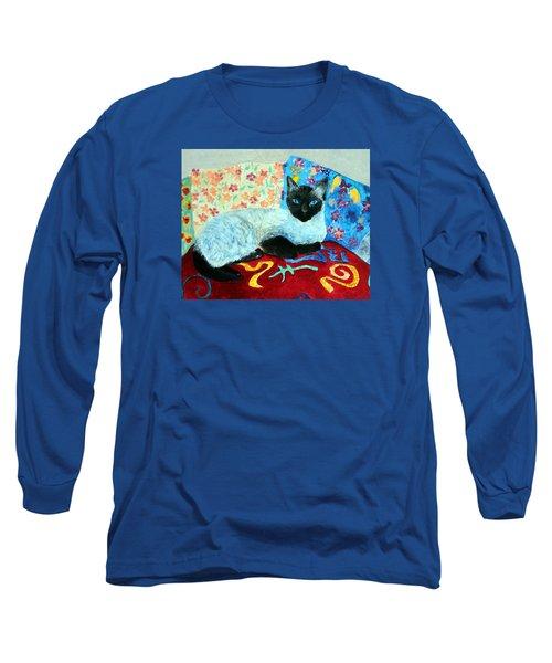 Siamese Cat Long Sleeve T-Shirt