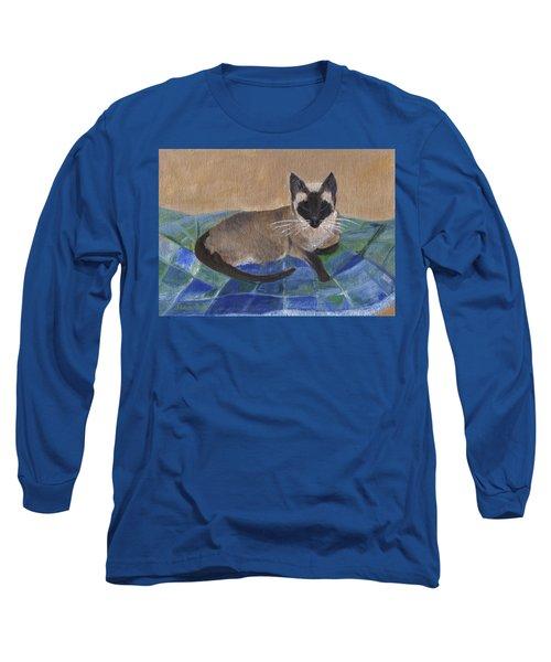Siamese Nap Long Sleeve T-Shirt