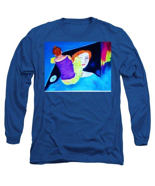 Sidewalk Artist II Long Sleeve T-Shirt