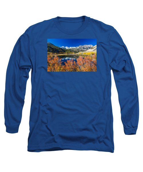 Sierra Foliage Long Sleeve T-Shirt by Tassanee Angiolillo