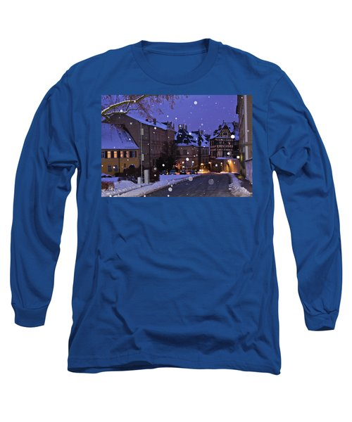 Silent Night In Bamberg, Germany #2 Long Sleeve T-Shirt