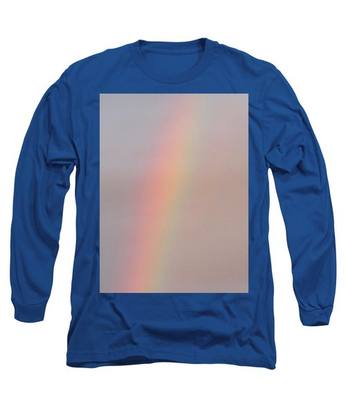 Simple Desert Rainbow Long Sleeve T-Shirt