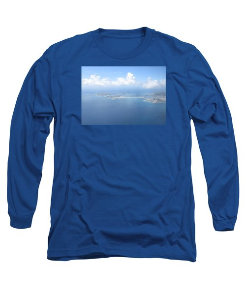 Simpson Bay St. Maarten Long Sleeve T-Shirt by Christopher Kirby