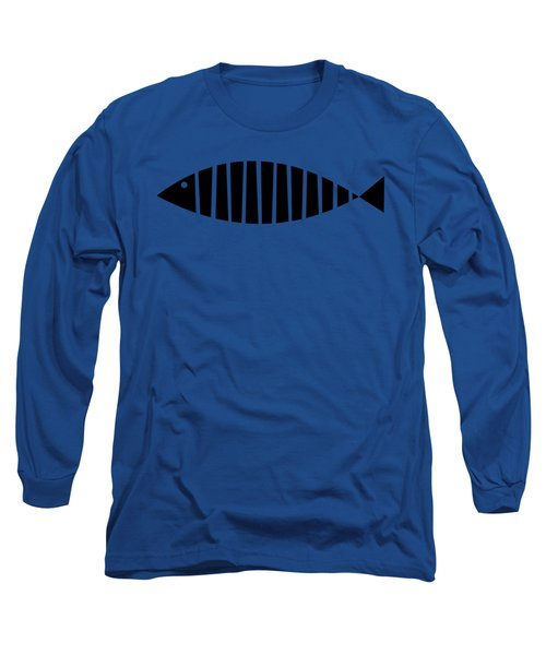 Single Fish Transparent Long Sleeve T-Shirt