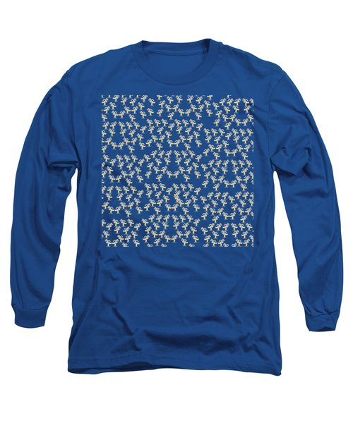 Skaters Pattern Long Sleeve T-Shirt