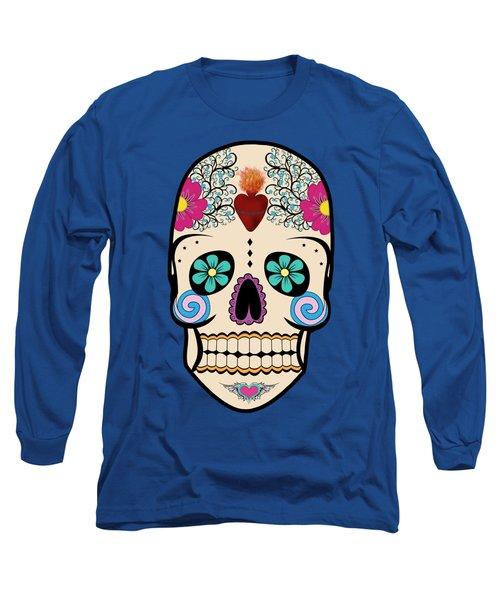 Skeleton Keyz Long Sleeve T-Shirt by LozMac