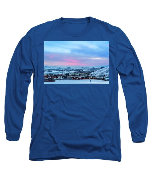 Ski Town Long Sleeve T-Shirt