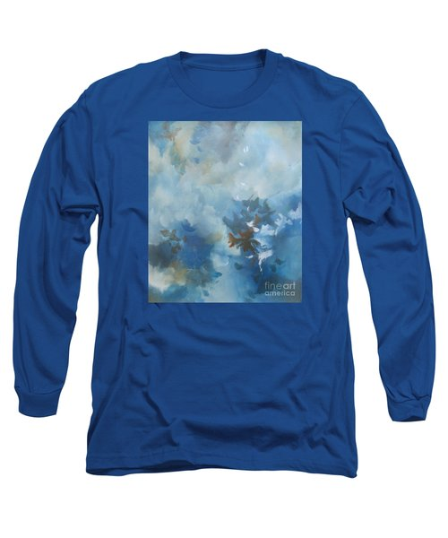 Long Sleeve T-Shirt featuring the painting Sky Fall I by Elis Cooke