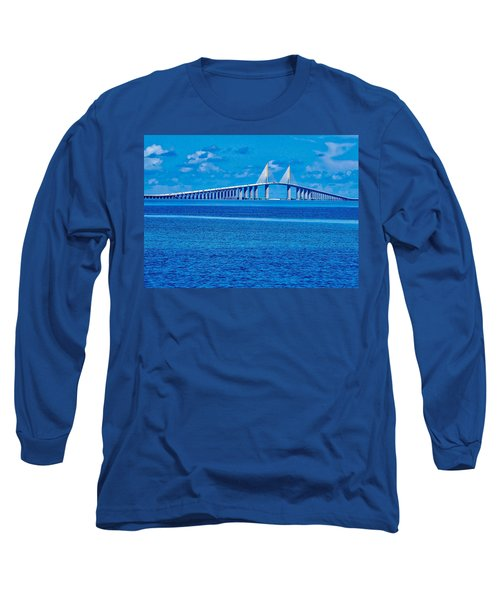 Skyway Bridge Long Sleeve T-Shirt