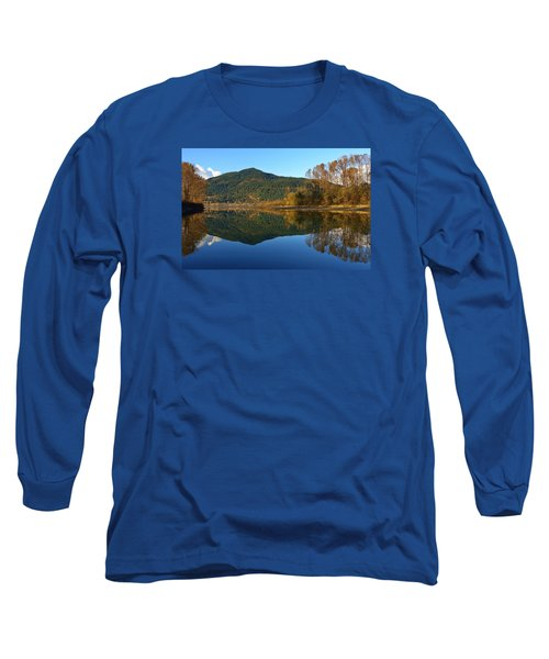 Sleek Serenity 3 Long Sleeve T-Shirt by Heather Vopni