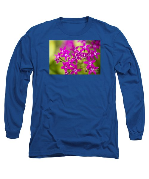 Smell Purple Long Sleeve T-Shirt