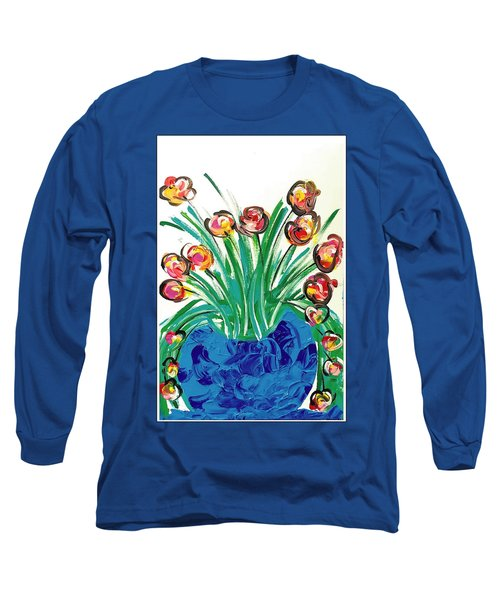 Smell The Flowers Long Sleeve T-Shirt