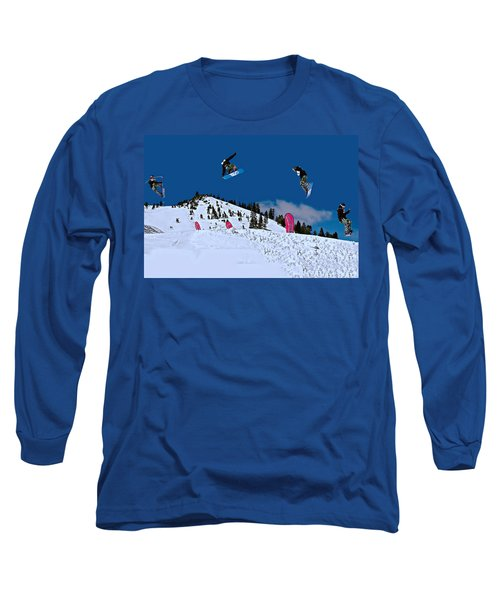 Snow Boarder Long Sleeve T-Shirt