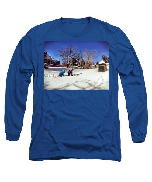 Snow Day Long Sleeve T-Shirt