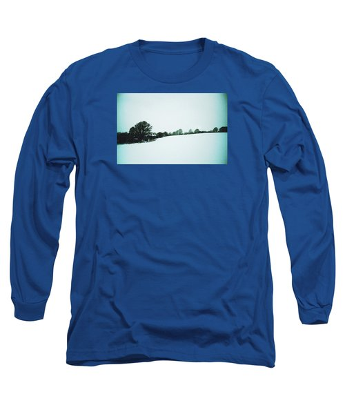 Snow In Sussex Long Sleeve T-Shirt by Anne Kotan