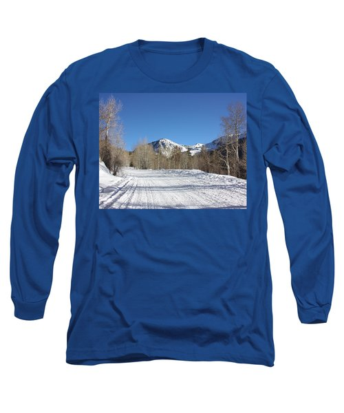 Snowy Aspen Long Sleeve T-Shirt