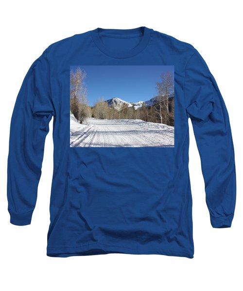 Snowy Aspen Long Sleeve T-Shirt