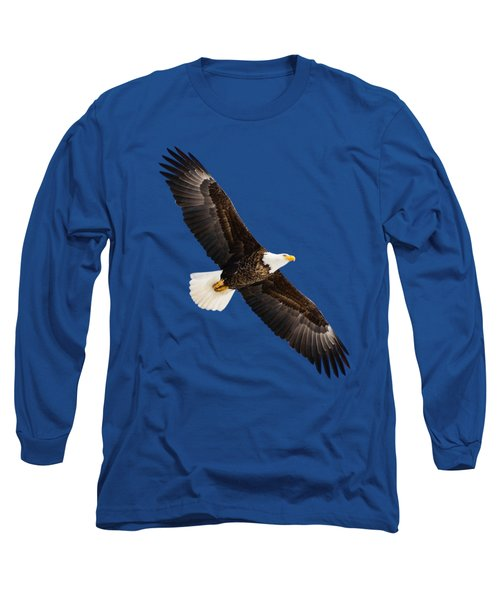 Soaring Eagle Long Sleeve T-Shirt by Greg Norrell