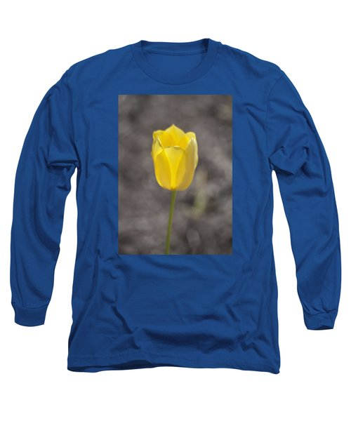 Soft And Yellow Long Sleeve T-Shirt by Morris  McClung