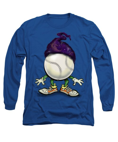 Softball Wizard Long Sleeve T-Shirt by Kevin Middleton