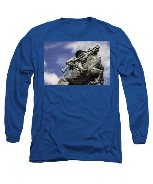 Soldier In The Boer War Long Sleeve T-Shirt