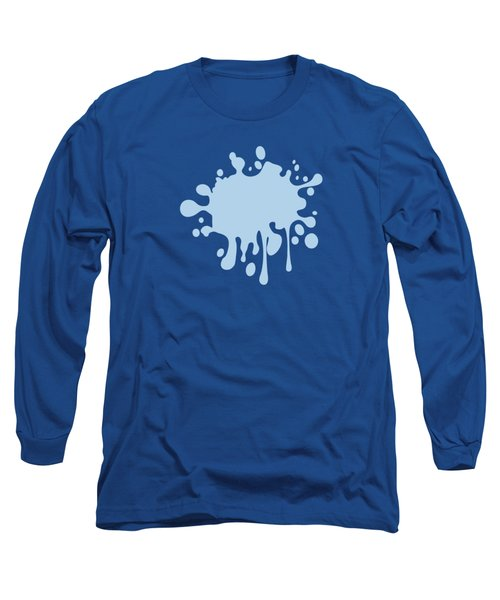 Solid Baby Blue Long Sleeve T-Shirt