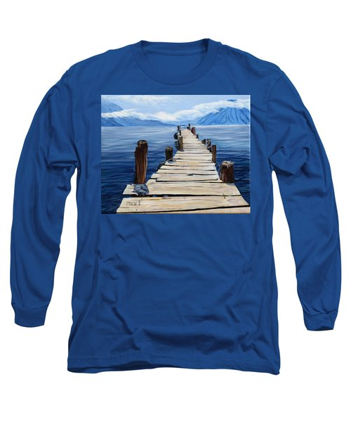 Crooked Dock  Long Sleeve T-Shirt