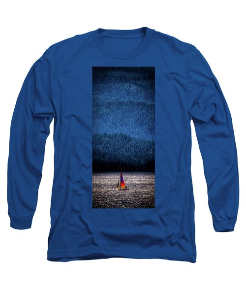 Long Sleeve T-Shirt featuring the photograph Solitude On Priest Lake by David Patterson