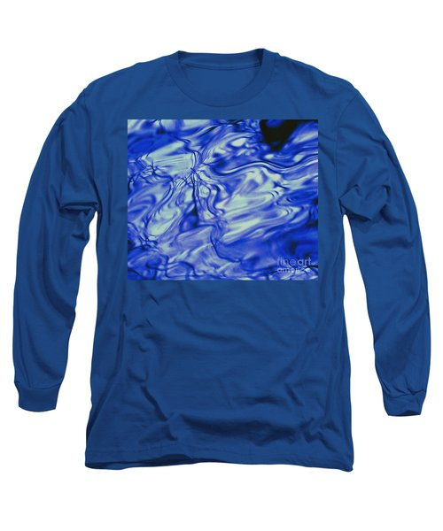 Solvent Blue Long Sleeve T-Shirt