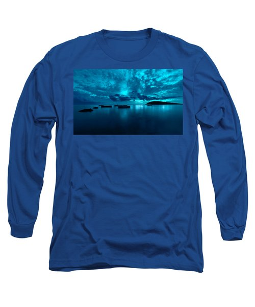 Soon The Night Shall Come Long Sleeve T-Shirt