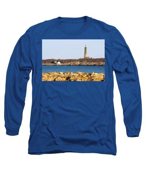 South Tower-thatcher Island Long Sleeve T-Shirt